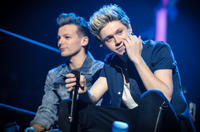 Louis Tomlinson and Niall Horan in