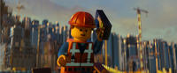 Emmet voiced by Chris Pratt in