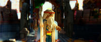 Vitruvius voiced by Morgan Freeman in
