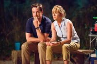 Jason Sudeikis as David Clark and Jennifer Aniston as Rose O'Reilly in