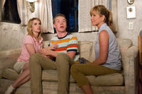 Emma Roberts as Casey Mathis, Will Poulter as Kenny Rossmore and Jennifer Aniston As Rose O'Reilly in