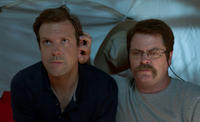 Jason Sudeikis as David Clark and Nick Offerman as Don Fitzgerald in