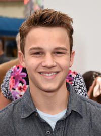 Gavin Macintosh at the California premiere of