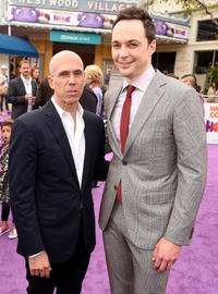 Jeffrey Katzenberg and Jim Parsons at the California premiere of