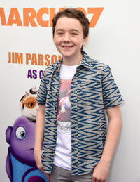 Benjamin Stockham at the California premiere of