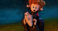 Adam Sandler voices Dracula and Asher Blinkoff voices Dennis in