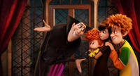 Adam Sandler voices Dracula, Asher Blinkoff voices Dennis, Selena Gomez voices Mavis and Andy Samberg voices Jonathan in