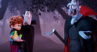 Mel Brooks voices Vlad, Adam Sandler voices Dracula and Asher Blinkoff voices Dennis in