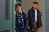 Colin Ford and Jason Bateman in