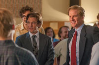 Dermot Mulroney as Mike Markkula and Matthew Modine as John Sculley in
