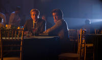 Matthew Modine as John Sculley and Dermot Mulroney as Mike Markkula in