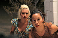 Brea Grant and Vera Miao in