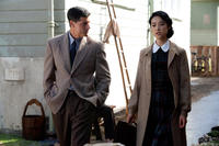 Matthew Fox and Eriko Hatsune in