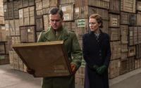 Matt Damon as James Granger and Cate Blanchett as Claire Simone in