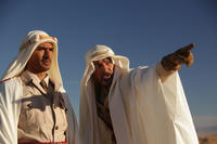 Jan Uddin as Ibn Idriss and Antonio Banderas as Emir Nesib in