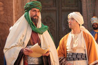 Mark Strong as Sultan Amar and Tahar Rahim as Prince Auda in