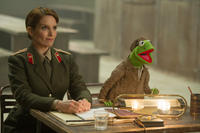 Tina Fey as Nadya and Kermit The Frog voiced by Steve Whitmire in