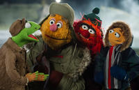 Kermit The Frog, Fozzie Bear, Animal and Walter in