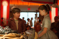 Pierce Gagnon and Raffey Cassidy in