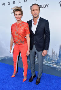 Faith Hill and Tim McGraw at the California world premiere of