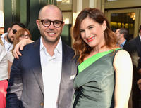 Damon Lindelof and Kathryn Hahn at the California world premiere of