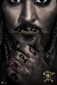 Pirates of the Caribbean: Dead Men Tell No Tales poster art