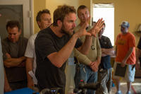 Director Brad Anderson on the set of