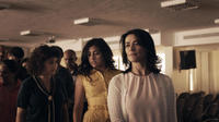 Hiam Abbas, Nadine Malouf and Alia Shawkat in