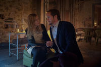 Brit Marling as Sarah and Alexander Skarsgard as Benji in