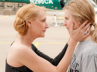 Patricia Clarkson and Brit Marling in