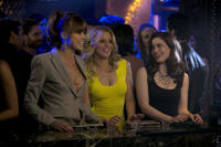 Sarah Wright as Denise, Elizabeth Banks as Meghan Miles and Gillian Jacobs as Rose in