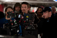 Ethan Hawke and director Courtney Solomon on the set of