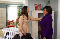 Paula Patton as Montana Moore and Jenifer Lewis as Catherine in