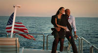 Paula Patton as Montana Moore and Boris Kodjoe as Graham in