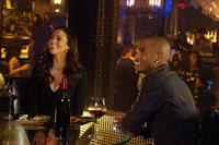 Paula Patton as Montana Moore and Trey Songz as Damon Diesel in