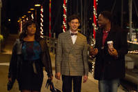 Jill Scott, Adam Brody and David E. Talbert in