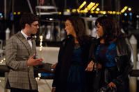 Adam Brody as Sam, Paula Patton as Montana Moore and Jill Scott as Gail in