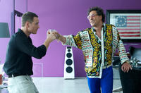 Michael Fassbender as The Counselor and Javier Bardem as Reiner in