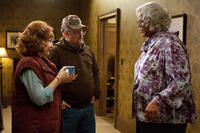 Kathy Najimy as Kim, Larry the Cable Guy as Buddy and Tyler Perry as Madea in