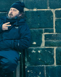 Director Ben Wheatley on set of