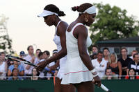 Serena Williams and Venus Williams in