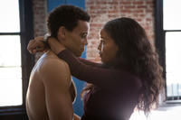 Michael Ealy as Danny and Joy Bryant as Debbie in