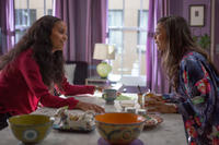 Joy Bryant as Debbie and Regina Hall as Joan in