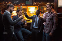 David Greenman as Isaac, Michael Ealy as Danny, Kevin Hart as Bernie and Bryan Callen as Trent in