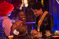 Kevin Hart as Bernie and Michael Ealy as Danny in
