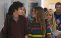Nat Wolff as Rusty Borgens and Liana Liberato as Kate in