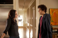 Jennifer Connelly as Erica and Nat Wolff as Rusty Borgens in