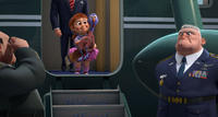 Reggie voiced by Owen Wilson and The Presidentos Daughter voiced by Kaitlyn Maher in