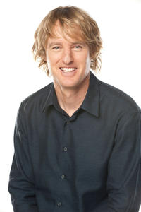 Owen Wilson on the set of