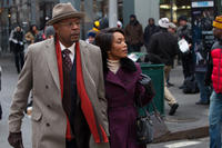 Forest Whitaker as Reverend Cornell Cobbs and Angela Bassett as Aretha in